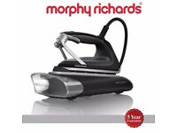 MORPHY RICHARDS Redefine ATOMiST 360001 Vapour Iron - Black Glass NEW Boxed