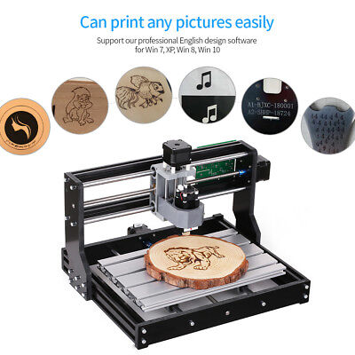 Cnc3018 Machine Router 3 Axis Engraving Pcb Wood Milling Engraver Carving 2500mw