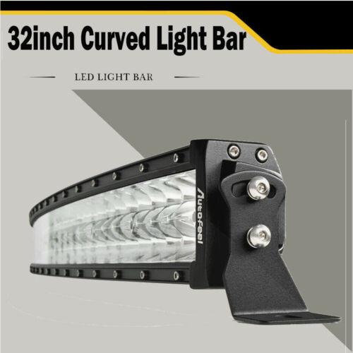 Polaris RZR 800 900 XP4 1000 Upper Roof 30//32/'/' Curved Combo Beam LED Light Bar