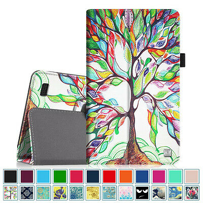 (Folio Case Stand Cover for All-New Amazon Fire 7 Tablet (7th Generation, 2017))