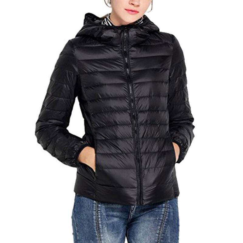 NEW Womens Duck Goose Down Ultralight Winter Jacket Warm Puf
