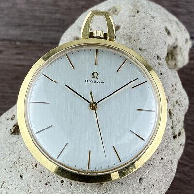 Omega 1714 Vintage Slim Pocket Watch 44mm FROM 1968