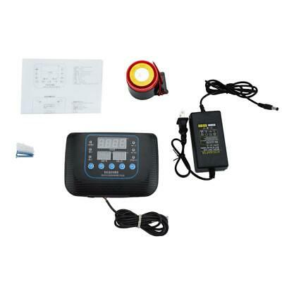Temperature Alarm With External Buzzer For Farm Greenhouse 110v-240v Us Plug
