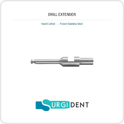 Dental Implant Drill Extender Dental Latch Surgical Tool Instruments