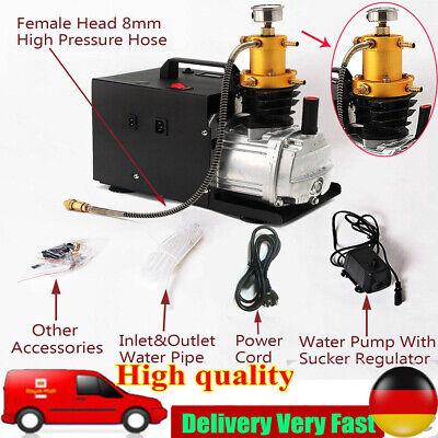 300Bar Bomba de compresor de aire eléctrico 30MPa PCP Alta Presión 1800W...