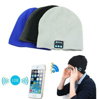 Christmas Gift Idea 2018 Smart Hat Cap With Wireless Bluetooth Headphone - Christmas Headband Ideas