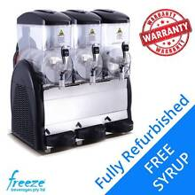 USED 3 Bowl Commercial Slush Machine with FREE Slush Syrup Richlands Brisbane South West Preview