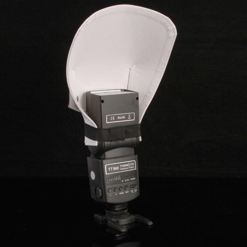 Universal Flash Bounce Diffuser Reflective Shovel For Canon Nikon Yongnuo Sony