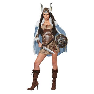 Womens Viking Vixen Halloween Costume (Viking Womens Kostüme)