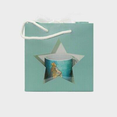 Kleine Sterne Geschenktüte aus Papier – Tüte Tragetasche Sichtfenster ()