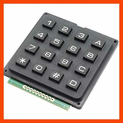 1pc 4x4 Keypad Mcu Boar Matrix Array Switch Tactile 16 Button For Arduino