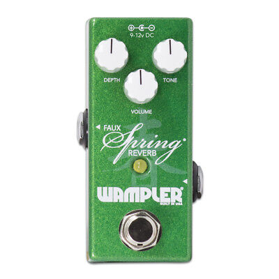 New Wampler Mini Faux Spring Reverb Guitar Effects Pedal