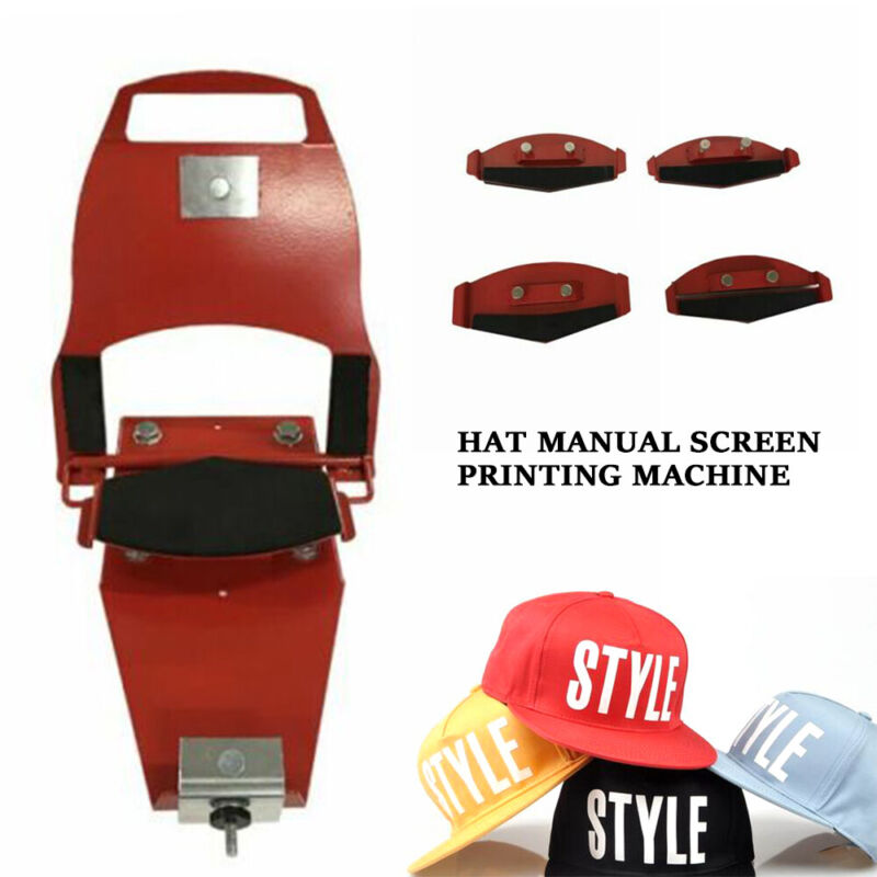 "Hat Clamp Silk Screen Printing Printer Equipment W/ Standard Platen 6"" x 3.375"""
