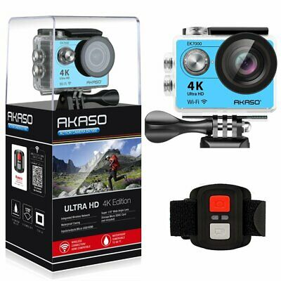 AKASO EK7000 4K Sport Action Camera Ultra HD Camcorder 12MP WiFi Waterproof Came
