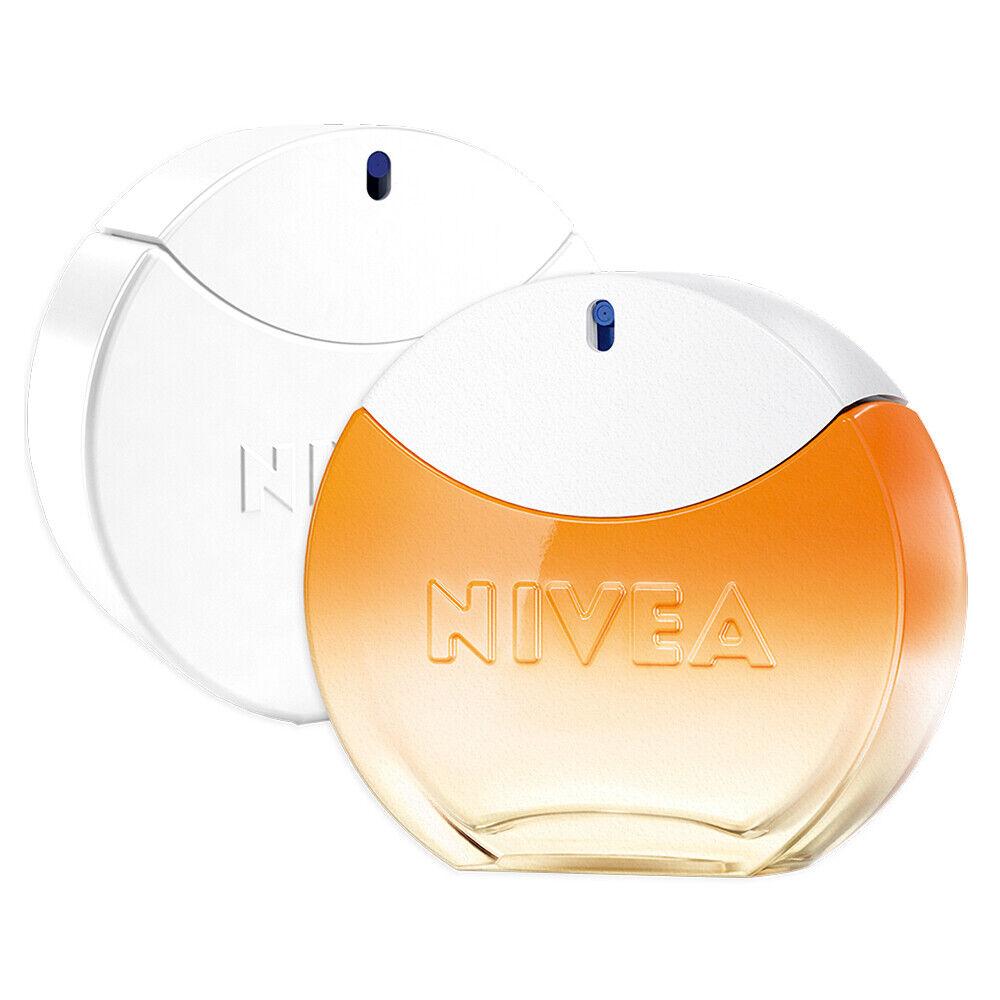 NIVEA Eau de Toilette Duftset 2x30ml Creme Duft + SUN Parfüm Frauen EdT B-Ware