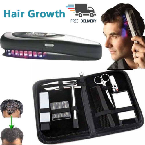New Laser Massage Comb For Infrared Hair Growth Regrowth Hair Thickening Home Hair Care & Styling