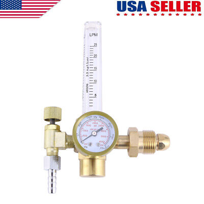 Mig Tig Flow Meter Regulator Argon Co2 Welding Weld Regulator Gauge Gas Welder