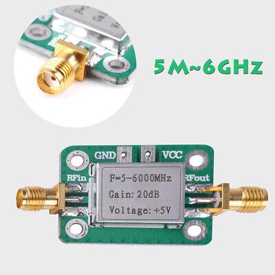5m6ghz Rf Broadband Signal Amplifier Board Gain 20db Power Amplifier Module