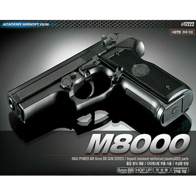 Toy Airsoft Gun AGF Colt M1911A1 BB-6mm ABS Hop-Up 22x14mm 80-Storage Track #