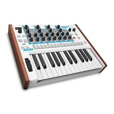 Akai Professional Timbre Wolf 4-voice Analog Polyphonic 25-Key Synthesizer Synth