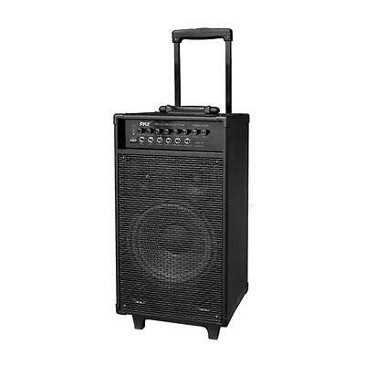 NEW Pyle PWMA1050BT 800W Wireless Portable Bluetooth PA System with Microphone