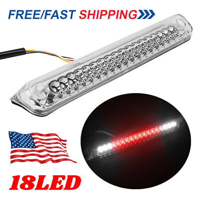 LED 3RD Brake Light Stop Lamp Red & White Fit 89-99 Chevy GMC C/K 1500 2500 3500