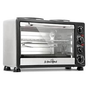 34L Benchtop Convection Oven with Twin Hot Plate - free delivery Sydney City Inner Sydney Preview