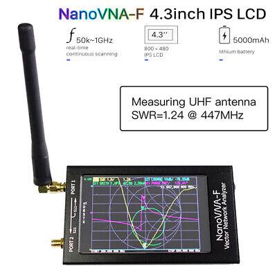 Latest NanoVNA NanoVNA-F UHF VNA HF Network Antenna Analyzer Case + RF Demo Kit
