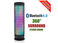 Bluetooth Speaker LED Colorful Portable Wireless