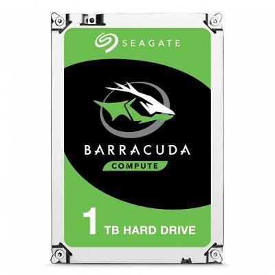interne Festplatte Seagate BarraCuda 3.5 Zoll 1TB 1000GB  SATA3  7200 64MB