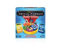 Trivial Pursuit Family Edition. Brand new. Still sealed.