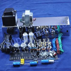fenders 5e3 deluxe guitar tube amp 6v6 push pull kit chassis diy. Black Bedroom Furniture Sets. Home Design Ideas