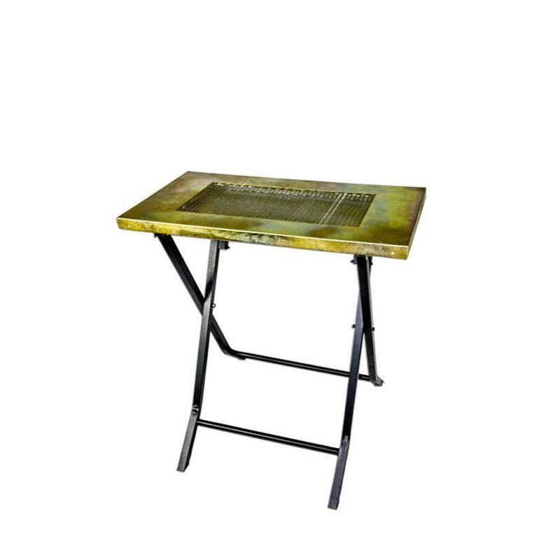 Welding Table Steel Fordable Portable Collapsible Anti Stick Coated Heavy Duty