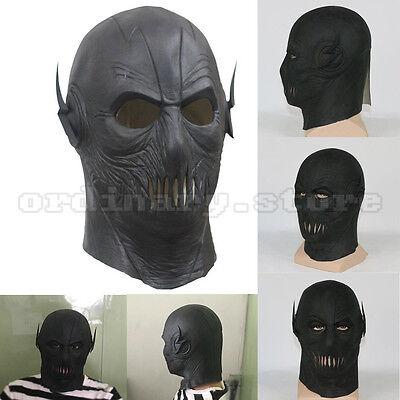 The Flash season 2 Zoom Latex Helmet Full head Cosplay Halloween Party Prop Mask - Flash Mask