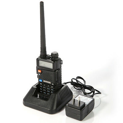 New Version Baofeng UV-5R Dual-Band 136-174/4​​00-520 MHz FM Ham Two-way Radio on Rummage