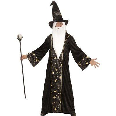 Large Men's Wizard Costume - Mens Marlin New Carnival Fancy Dress](Marlins Man Halloween Costume)