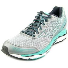 Mizuno Wave Paradox 2 Women D Round Toe Synthetic Gray Running Shoe