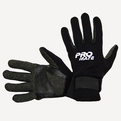 Scuba Dive Gloves - 1.5mm Neoprene w/ Amara & Cut Resistant Palm Scuba Dive Snorkel Gloves Tropical