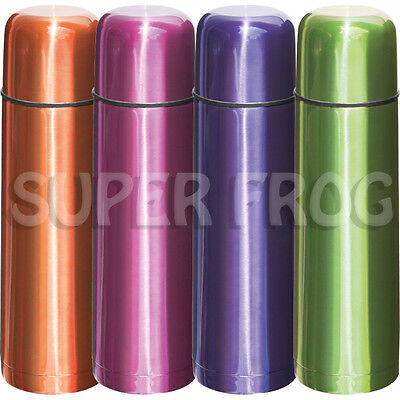 Thermos Stainless Steel Push Button - Stainless Steel Thermos Flask Vacuum Bottle Push Button Lid Insulated Cup 500ml