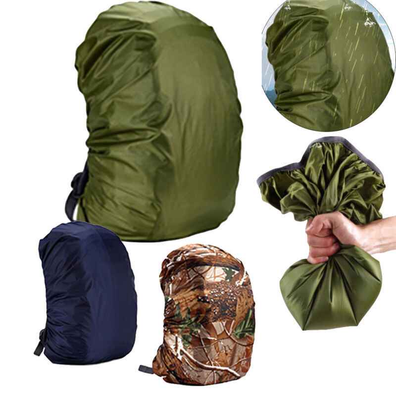 Waterproof Camouflage Backpack Bag Rain Cover Outdoor Travel Hiking Camping