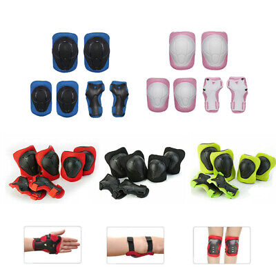 Children Protective Gear Set Safety Knee/Elbow/Wrist Pad For Skateboard Cycling