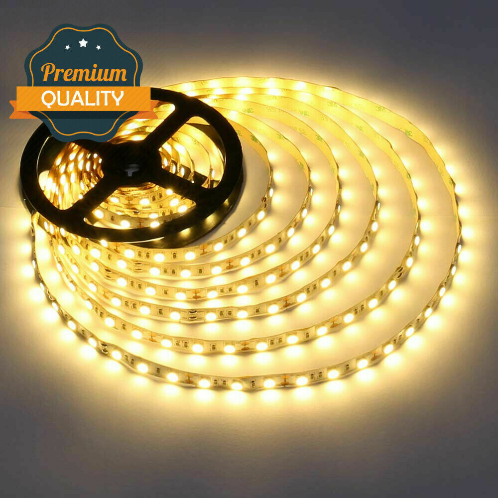 12V LED Streifen Stripe SMD 2835 5050 Warmweiss Kaltweiss Leiste Band dimmbar