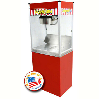 Classic Pop 16 Ounce Popcorn Machine With Stand Combo