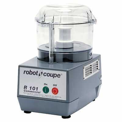 Robot Coupe R101 B Clr 1 Speed Cutter Mixer Food Processor W 2 12 Qt Bowl 120v