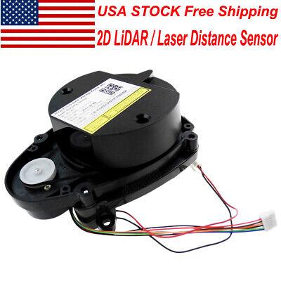 Us Stock 2d Lidar 360 Degree Laser Radar Scanner Lidar Sensor Distance Detection