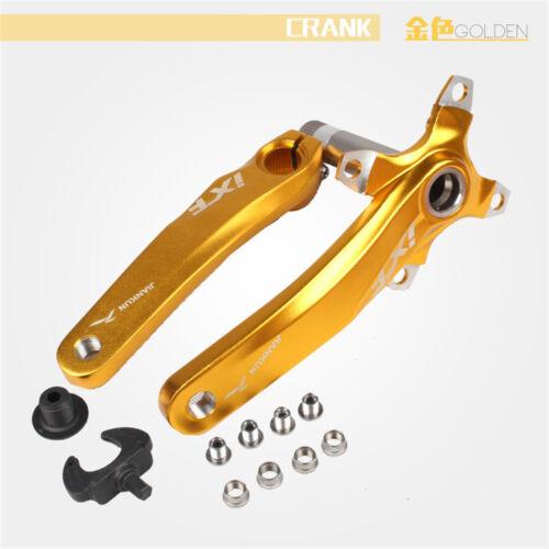 IXF170mm BCD 104mm Aluminium MTB Rennrad Fahrrad Kurbelgarnitur Innenlager