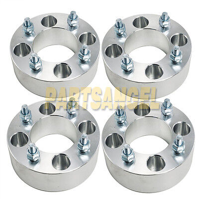 "(4) 5"" (2.5"" per side) Wheel Spacers 4x4 to 4x4 4/4 for EZ GO Club Car Golf Cart"