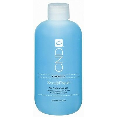 CND Scrub Fresh 8oz Bottle - One Step Nail Prep - Brand new