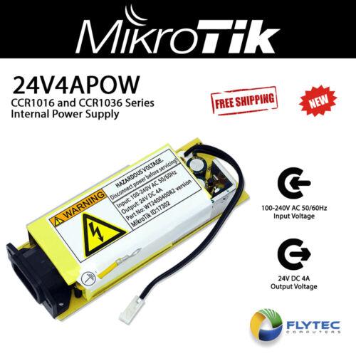 Mikrotik 24V4APOW 24v 4A internal power supply for CCR1016 and CCR1036