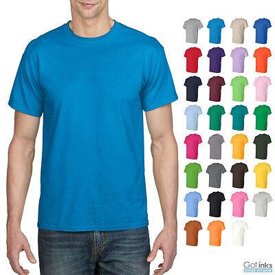 Gildan Mens DryBlend 50/50 Cotton/Polyester Plain T-Shirt Short Sleeve S-5X 8000 ()